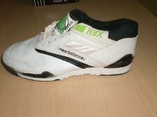 vintage shoes new balance  collectors only    10.5 usa  new 1980 90  nos white
