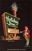 Postcard Holiday Inn Kingman Arizona