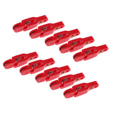 10Pcs Heavy Tension Snapper Snap Weight Release Trolling Clip ,Pin in Pad
