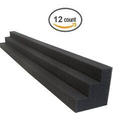 Column Acoustic Wedge Studio Soundproofing Foam Corner Block Acoustic (12 Pack)