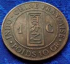 BELLE MONNAIE 1 Cme INDOCHINE FRANçAISE 1887 A     A VOIR!!!!!!!!