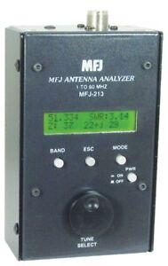 MFJ-213 HF/6M Antenna SWR Analyzer, 1.8-60 MHz
