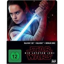 Star Wars: Die letzten Jedi (2D & 3D Steelbook Edition) Limited - (3D Blu-ray (+