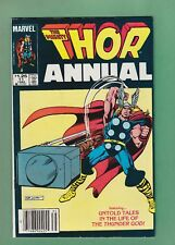 Thor Annual #11 (1983) 1st App Eitri, $1.25 Canadian Newsstand Infinity War,  VF