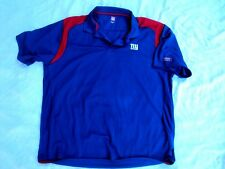 NY Giants Polo Shirt Blue Adult Size XXL New Without Tags!