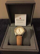 Michele Belmore Ladies Watch 2-tone W/Diamonds  BRAND NEW (Model MW29A01C5942)