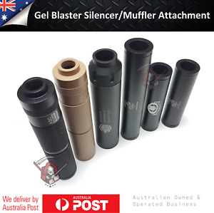 Gel Blaster Toy Silencer/Muffler Cap for 14mm Reverse Threaded Outer Barrel Part