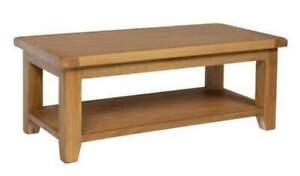 Trewick Large Coffee Table with Shelf