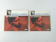 JOHN MELLENCAMP - WORDS & MUSIC - LIMITE EDITION 2CD + DVD DIGIPACK 2004 ISLAND