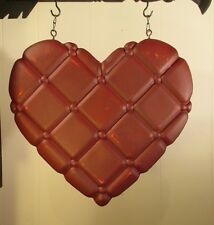 """QUILTED HEART"" Replacement Sign - Resin Sign for Country Arrow Holders"