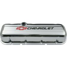 PROFORM 141-813 Tall Valve Cover in Chrome Finish for 1965-Up BB Chevy