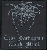 Darkthrone Patch True Norwegian Black Metal Woven Patch