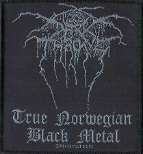 Darkthrone ' True Norwegian Black Metal ' Woven Patch