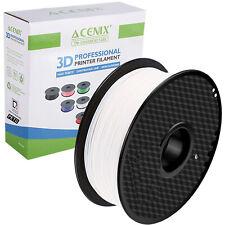 Acenix ® Blanco PETG Impresora 3D filamento 1.75mm 1KG filamento de carrete para impresión 3D