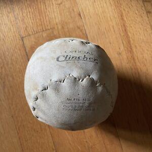 "Debeer Official Clincher F16  16"" Softball Steam Welded Kapok"