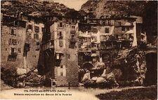 CPA    Pont-en-Royans (Isére)-Maisons suspendues au dessus de la Bourne (434630)