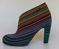 United Nude Parasol multi-stripe fold hi shoe/boots, UK 3/EU 36, BNWB