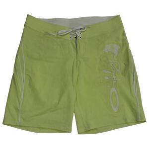 Oakley Floater Boardshorts Womens Size 6 US 10 AU Midori Green Boardies Shorts