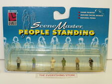 VINTAGE LIFE LIKE HO TRAIN PEOPLE STANDING FIGURES ACCESSORIES NEW ON CARD
