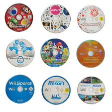 Nintendo Wii Spiele Auswahl Mario Kart , Mario Party 8 ,9 ,Sports , Wii Party