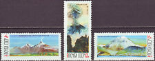 SU 1965 Mi 3138-3140** Vulkane auf der Kamtschatka-Halbinsel gez. K 12½:12