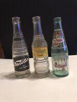 Vintage NuGrape Soda, Vintage Nesbitt's of California, & Dr Pepper Bottle