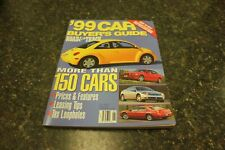 '99 CAR BUYER'S GUIDE, ROAD & TRACK, NEW 200 PAGE BOOK, 150 CARS / BEST OFFER