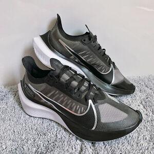Nike Air Zoom Gravity Running Shoes Black Metallic Silver BQ3203 002 Women 7.5
