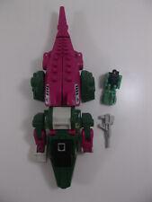 Vintage 1987 G1 Transformers Headmasters SKULLCRUNCHER 100% Complete w/ GRAX