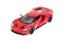 "Kinsmart 2017 Ford GT 1:38 scale 5"" diecast model car Red K144"