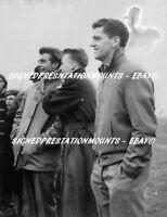 "PEGG CHARLTON TAYLOR VERY RARE 1957 MANCHESTER UNITED 12 X8""  PRINT COA"