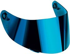 AGV VISOR VISIERA IRIDIUM BLUE BLU CASCO STRADA HORIZON SKYLINE  MOD. GT-2