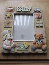 """""""RUSS""""  CERAMIC PHOTO FRAME BABY THEME  { EXPRESSION OF LOVE }"""