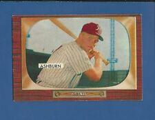 1955 Bowman #130 Richie Ashburn Philadelphia Phillies EX/MT Additional ship free