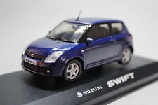 SUZUKI SWIFT 3 TURER BLUE RIETZE AUTOMODELLE 1:43h