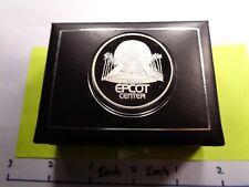 JM JOHNSON MATTHEY EPCOT CENTER WALT DISNEY WORLD 1982 RARE 999 SILVER COIN CASE