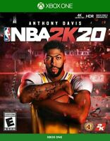 NBA 2K20 (Microsoft Xbox One XB1) Brand New Factory Sealed