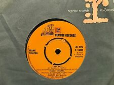 "7"" RARE VINYL - FRANK SINATRA - LADY DAY / WHAT NOW MY LOVE - REPRISE 1967"
