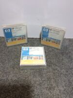 Lot of 3 Genuine HP C7972A 400GB Ultrium LTO 2 Data Cartridges NEW