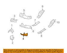 SUBARU OEM 06-11 Impreza 2.5L Heat Shields-Exhaust-Converter Shield 44651AA610