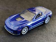 2013 HOT WHEELS 09 Corvette Zr1 Confezione Multipla esclusivo Metalflake Blu