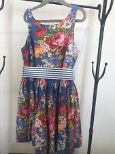 ralph lauren girls floral sundress size 8