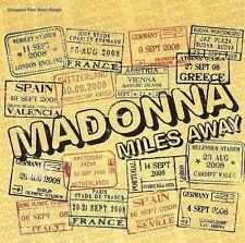 MADONNA - MILES AWAY - CD SINGLE NEW UNPLAYED 2008 - 2 TRACKS MADE IN EU
