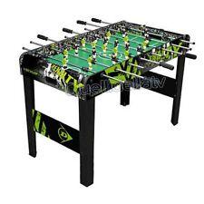 Dunlop - tavolo Calcio Balilla da terra in legno MDF serigrafato Penalty (l1x)