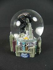 New York Schneekugel Snowglobe,6 cm,Empire State Building mit King Kong