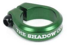 """SHADOW CONSPIRACY ALFRED BMX BIKE BICYCLE SEAT POST CLAMP 1 1/8"""" SUBROSA GREEN"""
