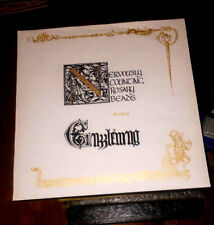 GUZZLEMUG nervously counting rosary beads mint vinyl LP