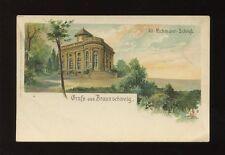 Germany Gruss aus BRAUNSCHWEIG Alt-Richmont-Schloss artist P Wirsing u/b PPC