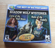 NEW PC GAME BIG FISH GAMES SHADOW WOLF MYSTERIES FACTORY SEALED IN PACKAGE