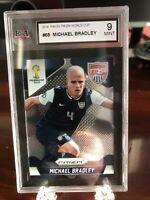 2014 Panini Prizm World Cup #68 Michael Bradley Team USA - KSA 9 Mint
